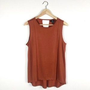 Mossimo Rust Orange Tank Top Size Medium
